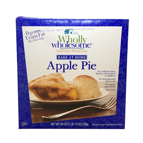 WHOLLY WHOLESOME: Organic Apple Pie