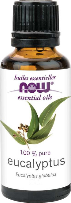 Now: 100% Pure Eucalyptus Essential Oil (118ml)