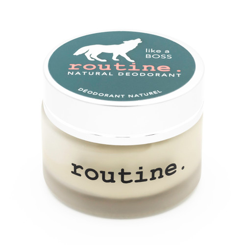Routine: Natural Deodorant Cream - Like A Boss