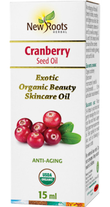 New Roots Herbal: Cranberry Seed Oil (15ml)