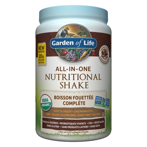 Garden of Life: All-In-One Shake - Chocolate