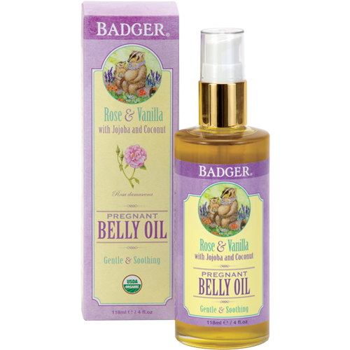 Badger: Pregnant Belly Oil (118ml)