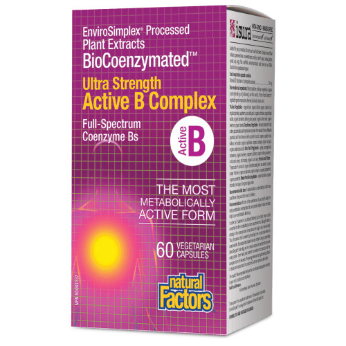 Natural Factors: Ultra Strength Active B Complex