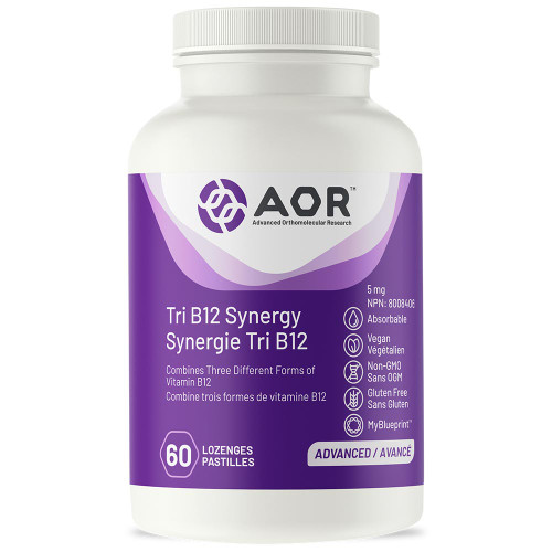 AOR: Tri B12 Synergy (60 Lozenges)