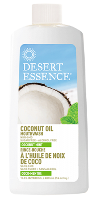 Desert Essence: Coconut Oil Mouthwash Mint