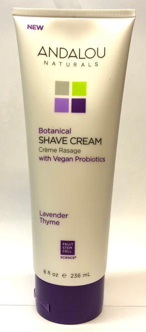 Andalou Naturals: Lavender Thyme Shave Cream