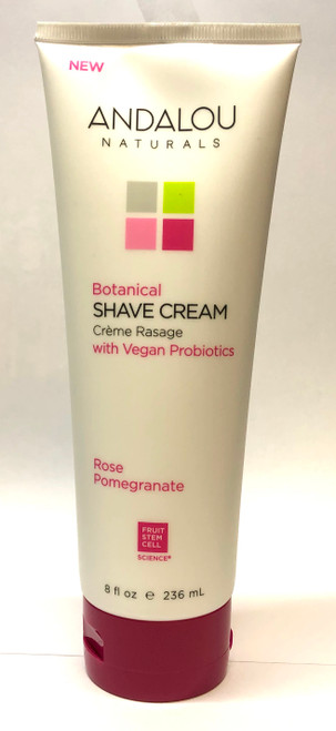 Andalou Naturals: Rose Pomegranate Shave Cream