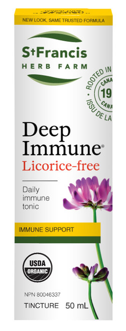 St Francis: Deep Immune Licorice Free