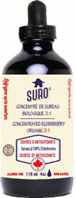 Suro Organic Concentrated Elderberry (118ml)