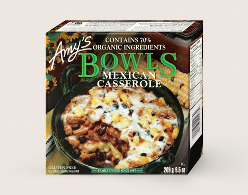 Amy's Bowl Mexican Casserole