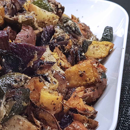 Lifestyle Cafe: Roasted Vegetables