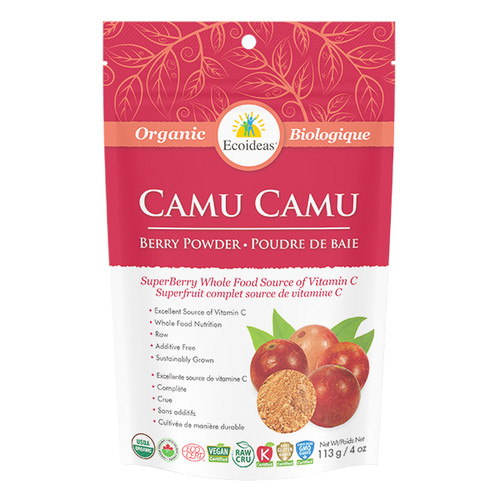 Ecoideas: Organic Camu Camu Berry Powder (113g)
