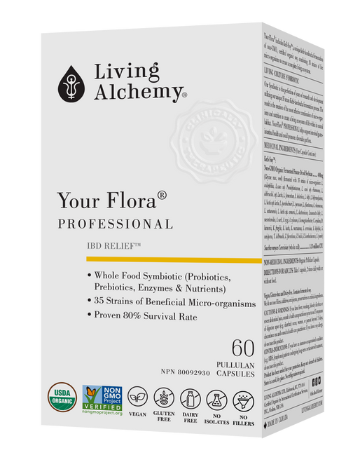 Living Alchemy: Your Flora Professional Front