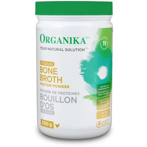 Organika: Chicken Bone Broth Ginger (300g)