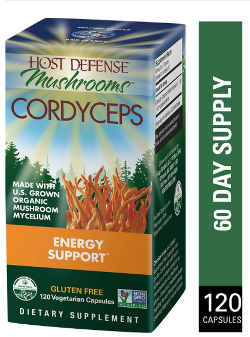Host Defense Cordyceps (120vcaps)