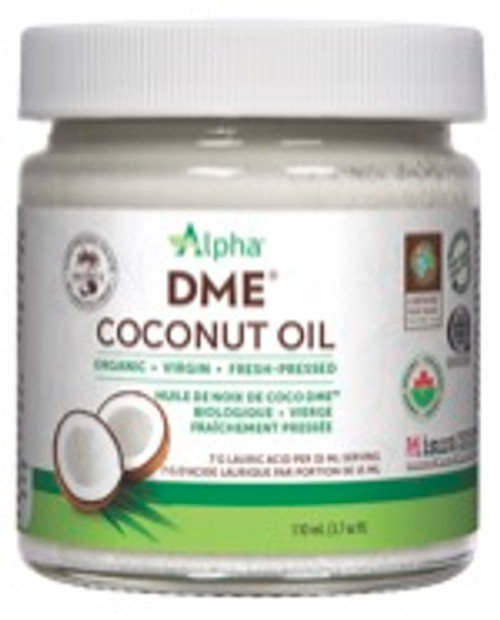 Alpha: DME Organic Virgin Coconut Oil (110ml)