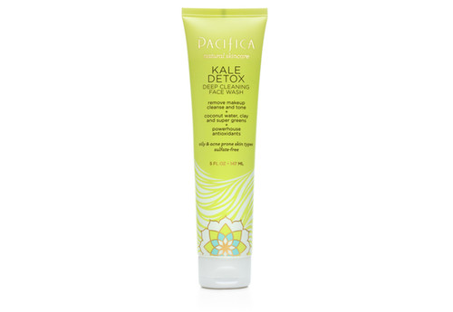 Pacifica: Kale Detox Deep Cleaning Face Wash (147ml)