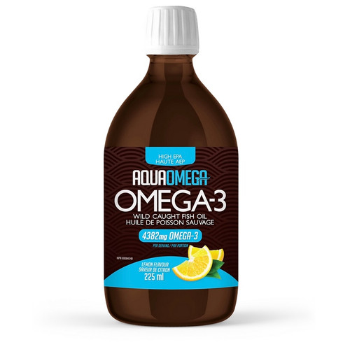 AquaOmega: Fish Oil High EPA Lemon Flavour