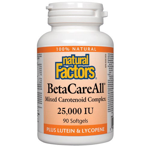 Natural Factors: BetaCareAll 25,000IU (90 Softgels)