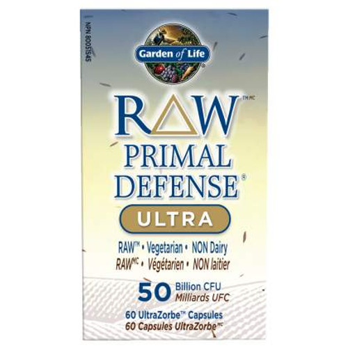 Garden of Life: Raw Primal Defense Ultra (60 Capsules)