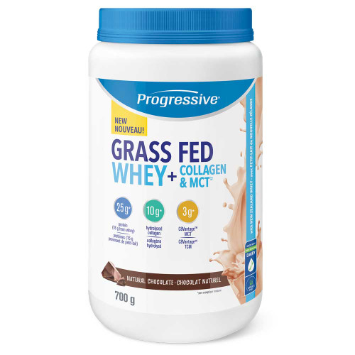 Progressive: Grass Fed Whey + Collagen & MCT - Chocolate