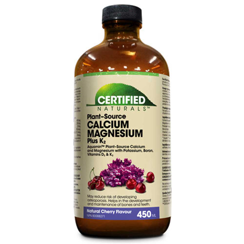 Certified Naturals: Liquid Cal/Mag Plus K2 - Cherry