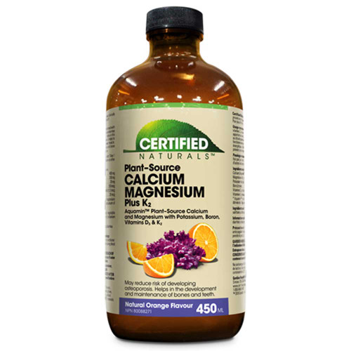 Certified Naturals: Liquid Cal/Mag Plus K2 - Orange