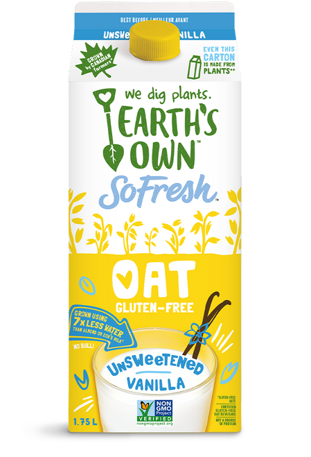Earth's Own: Oat Milk Vanilla Unsweetened