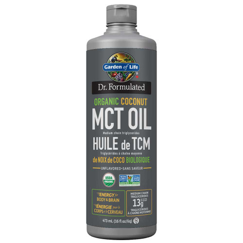 Garden of Life: Organic Coconut MCT Oil (473ml)