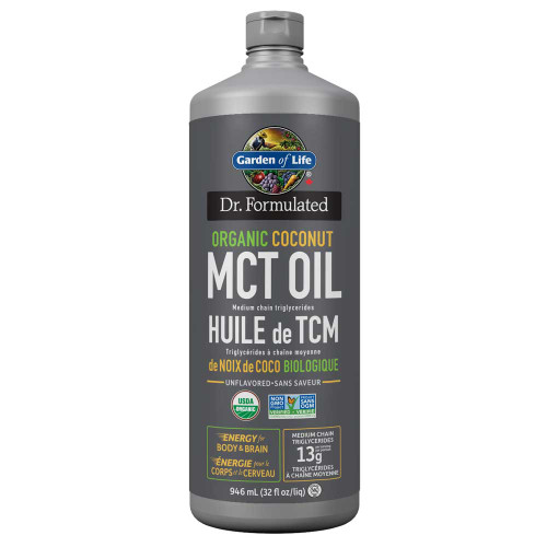 Garden of Life: Organic Coconut MCT Oil (946ml)