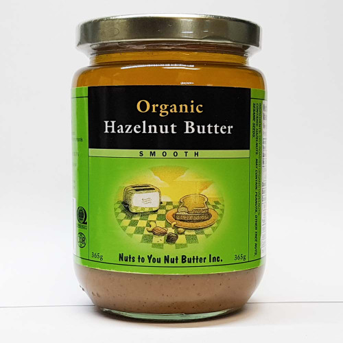 Nuts to You: Organic Hazelnut Butter
