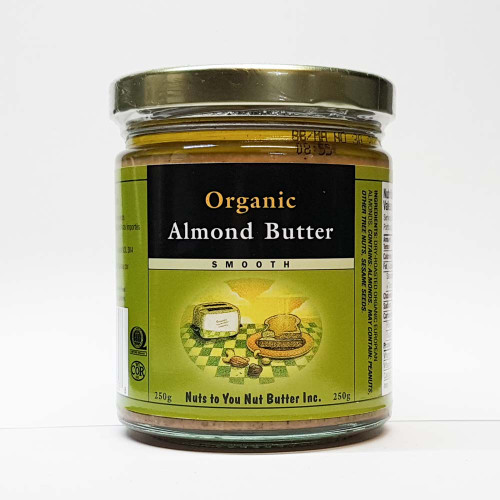 Nuts to You: Organic Almond Butter - Smooth (250g)