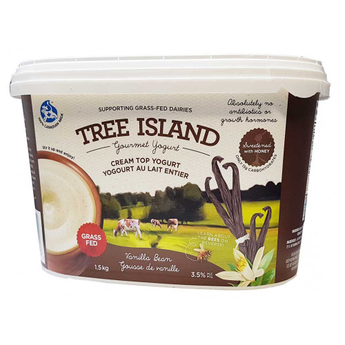 Tree Island Cream Top Yogurt - Vanilla