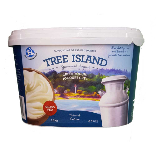 Tree Island Greek Yogurt - Natural