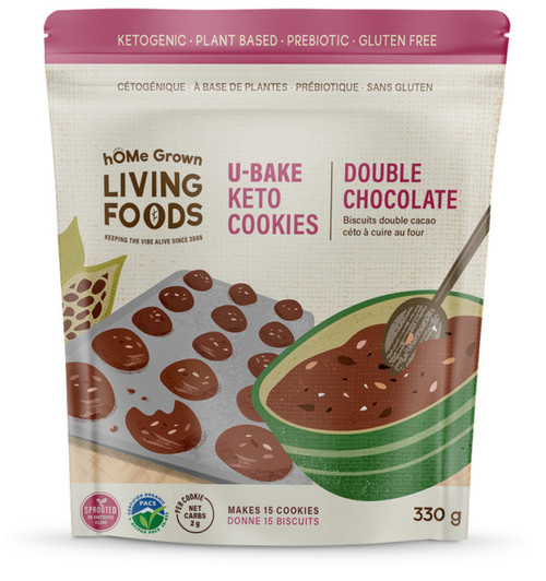 U-Bake Keto Cookies - Double Chocolate