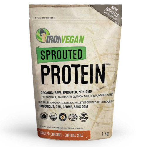 IronVegan: Sprouted Protein - Salted Caramel (1kg)