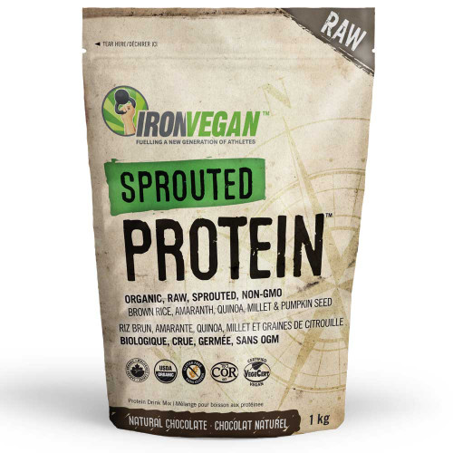 IronVegan: Sprouted Protein - Chocolate (1kg)