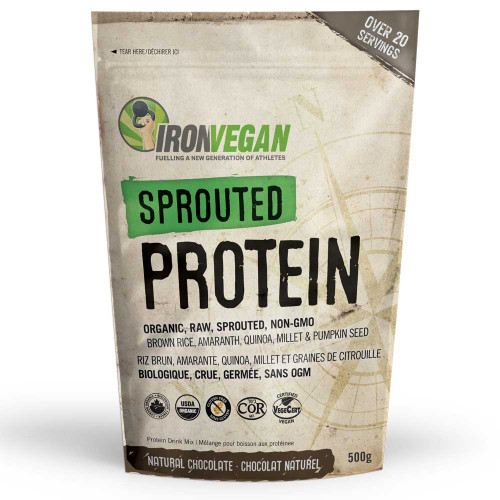 IronVegan: Sprouted Protein - Chocolate (500g)