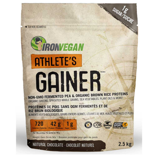 IronVegan: Athlete's Gainer - Chocolate