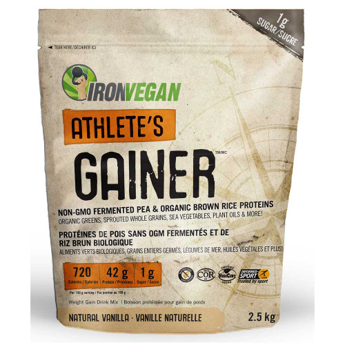 IronVegan: Athlete's Gainer - Vanilla