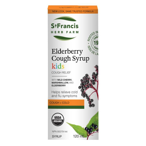 St. Francis: Elderberry Cough Syrup for Kids