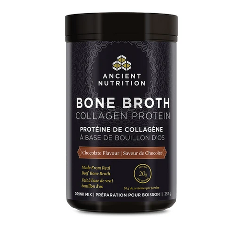 Ancient Nutrition: Bone Broth Collagen Protein - Chocolate