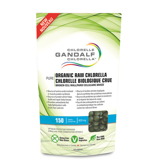 Gandalf: Organic Raw Chlorella (150 Tablets)