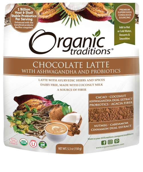 Organic Traditions: Chocolate Latte
