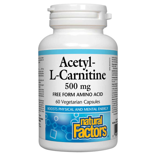 Natural Factors: Acetyl-L-Carnitine