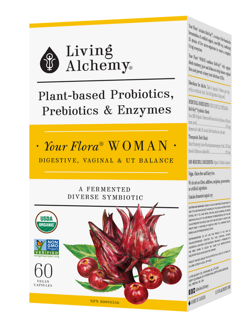 Living Alchemy: Your Flora Woman Front