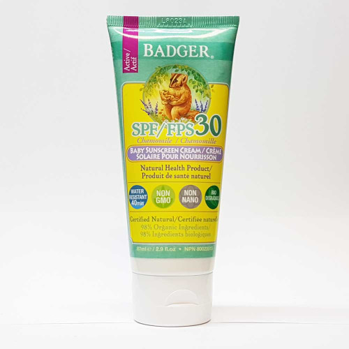 Badger:Baby Sunscreen SPF30
