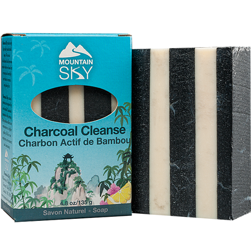 Mountain Sky: Charcoal Cleanse Bar (135g)