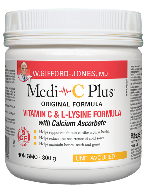 Medi-C Plus with Calcium Ascorbate - Unflavoured