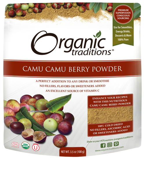 Organic Traditions: Camu Camu Berry Powder